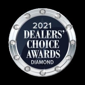 2021 Dealers' Choice Diamond Award Winner